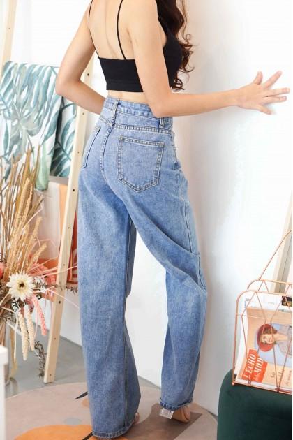 C16 - All Legs Wide Legged Jeans in Blue