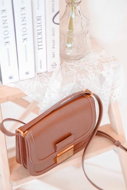 Boston Crossbody Bag in Brown