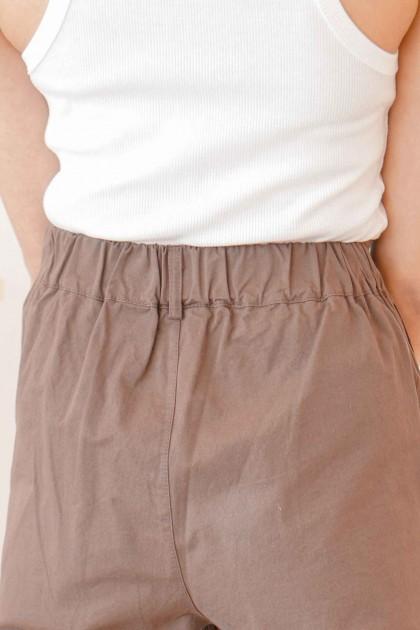 Good Habits Wide Legged Pants in Brown